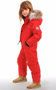 Combinaison Grizzly Snowsuit Rouge Canada Goose