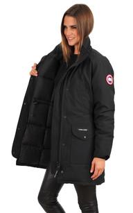 Manteau canada goose femme noir
