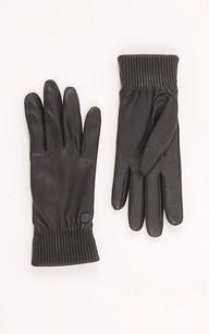 Gants Rib Luxe Noir1