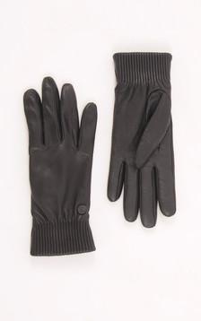 Gants Rib Luxe Noir