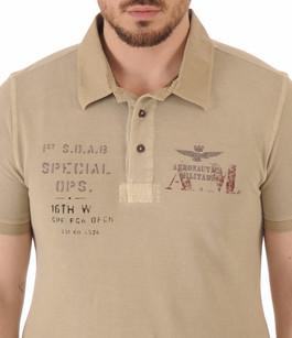 Polo Beige 1st SOAB Aeronautica Militare