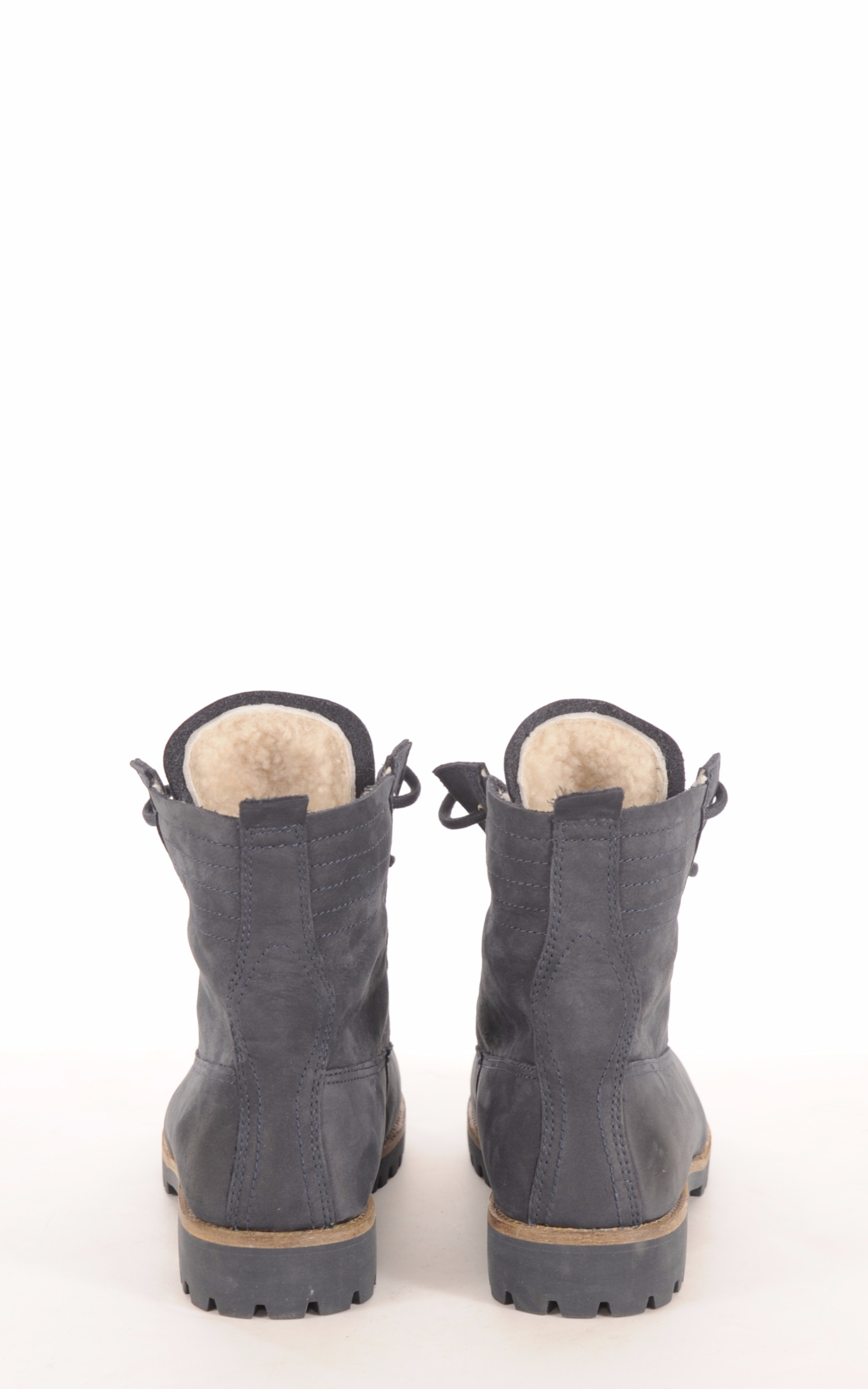Boots Mouton Bleu Denim Femme Blackstone
