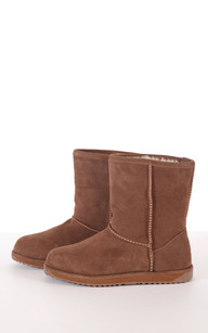 Boots mouton merinos Femme