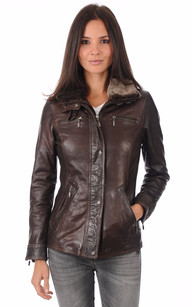 Veste Lady Marron