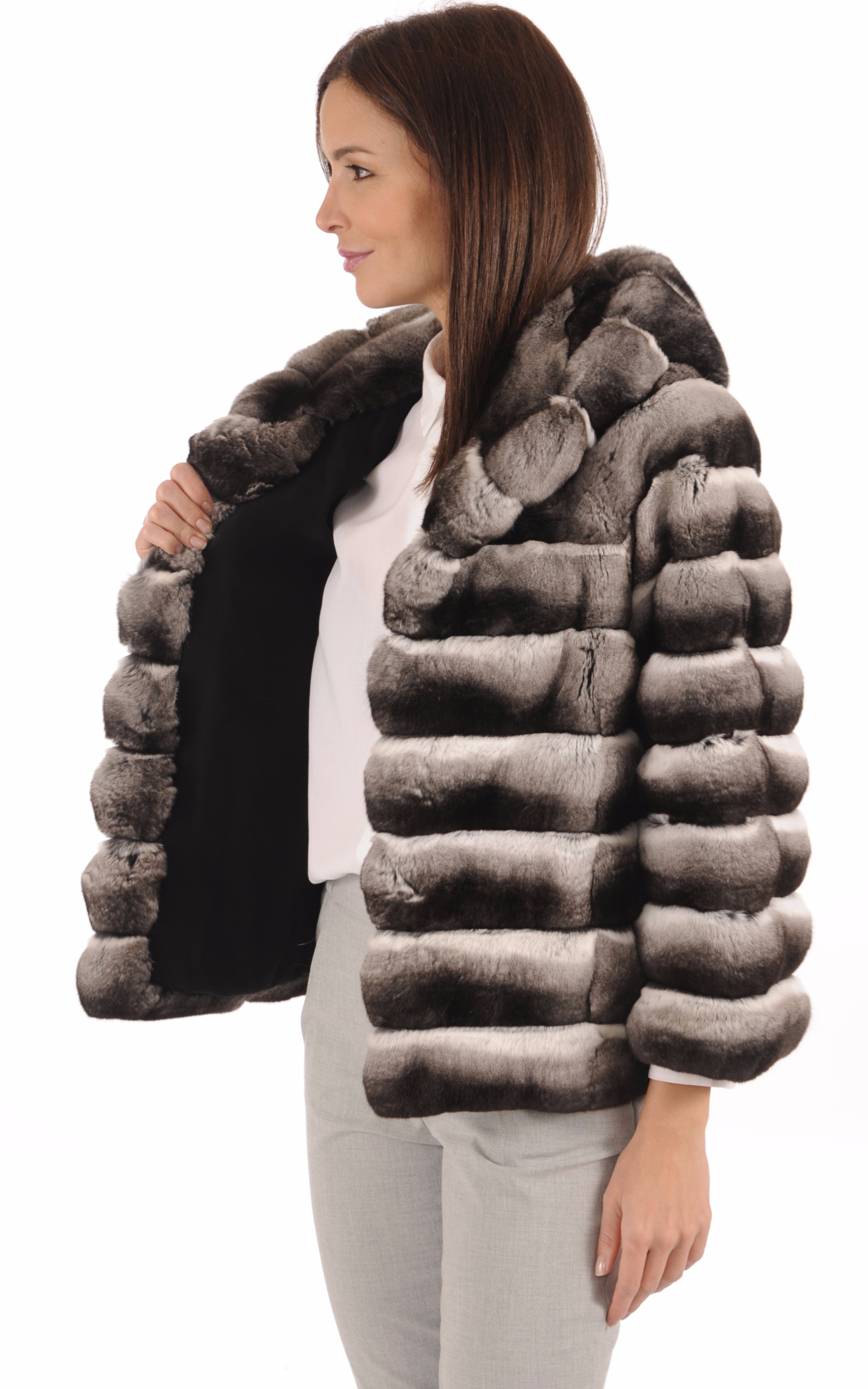 Veste Chic Femme Chinchilla La Canadienne