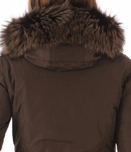 Parka Luxury Artic Fox Marron Foncé Woolrich