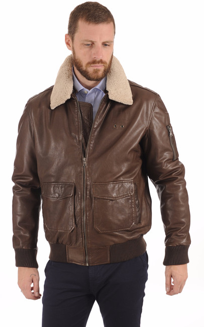 Blouson Aviateur Coupe Confortable Smarty