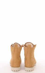 Boots Cuir & Mouton Camel Blackstone