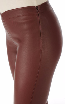Legging cuir stretch porto