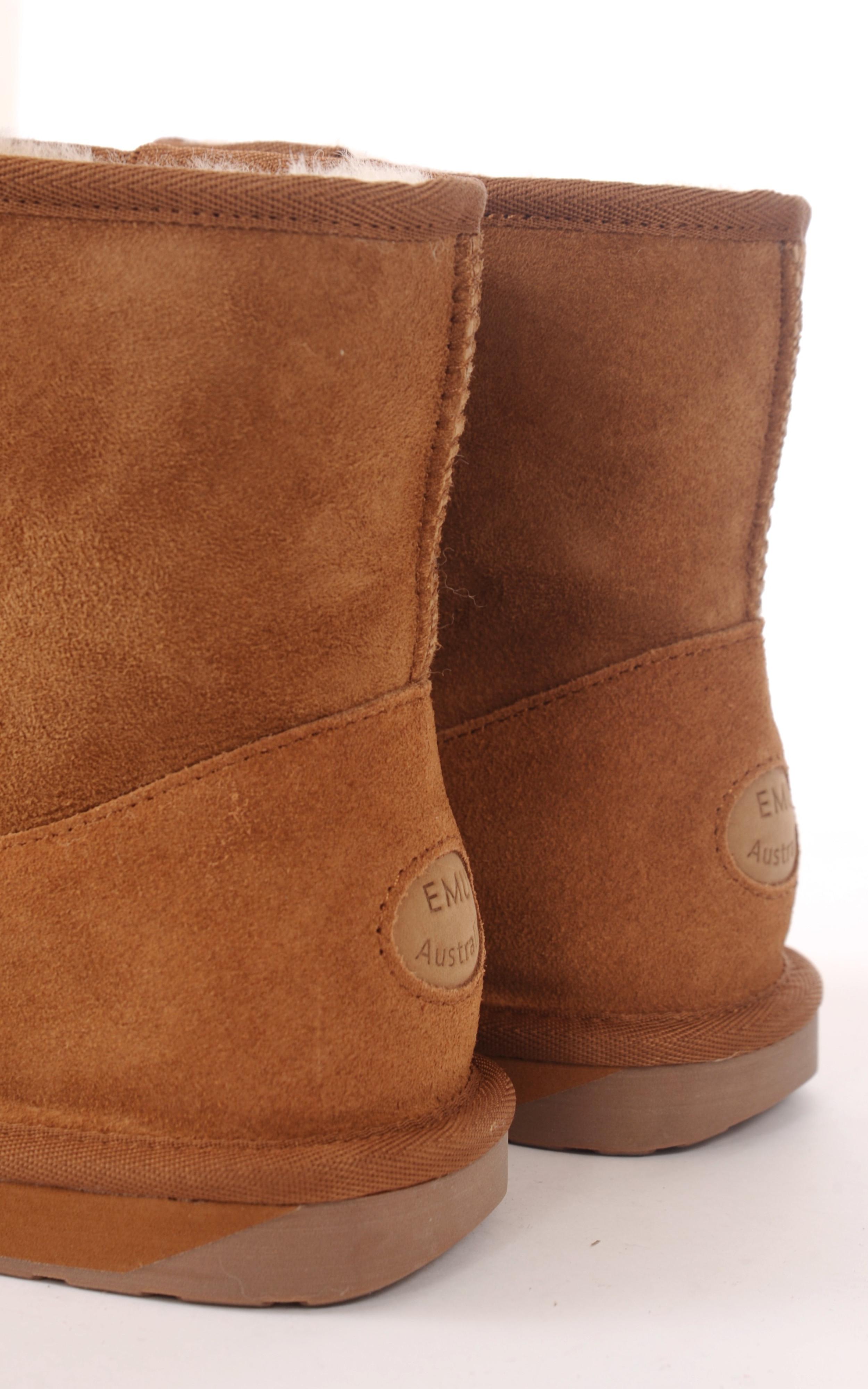 Boots mouton mérinos Femme Emu