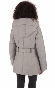 Manteau femme plume d'oie