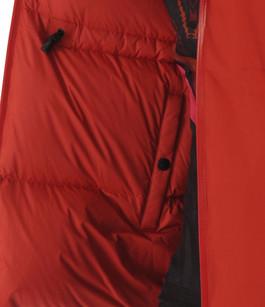 Doudoune Viola rouge réversible Nobis