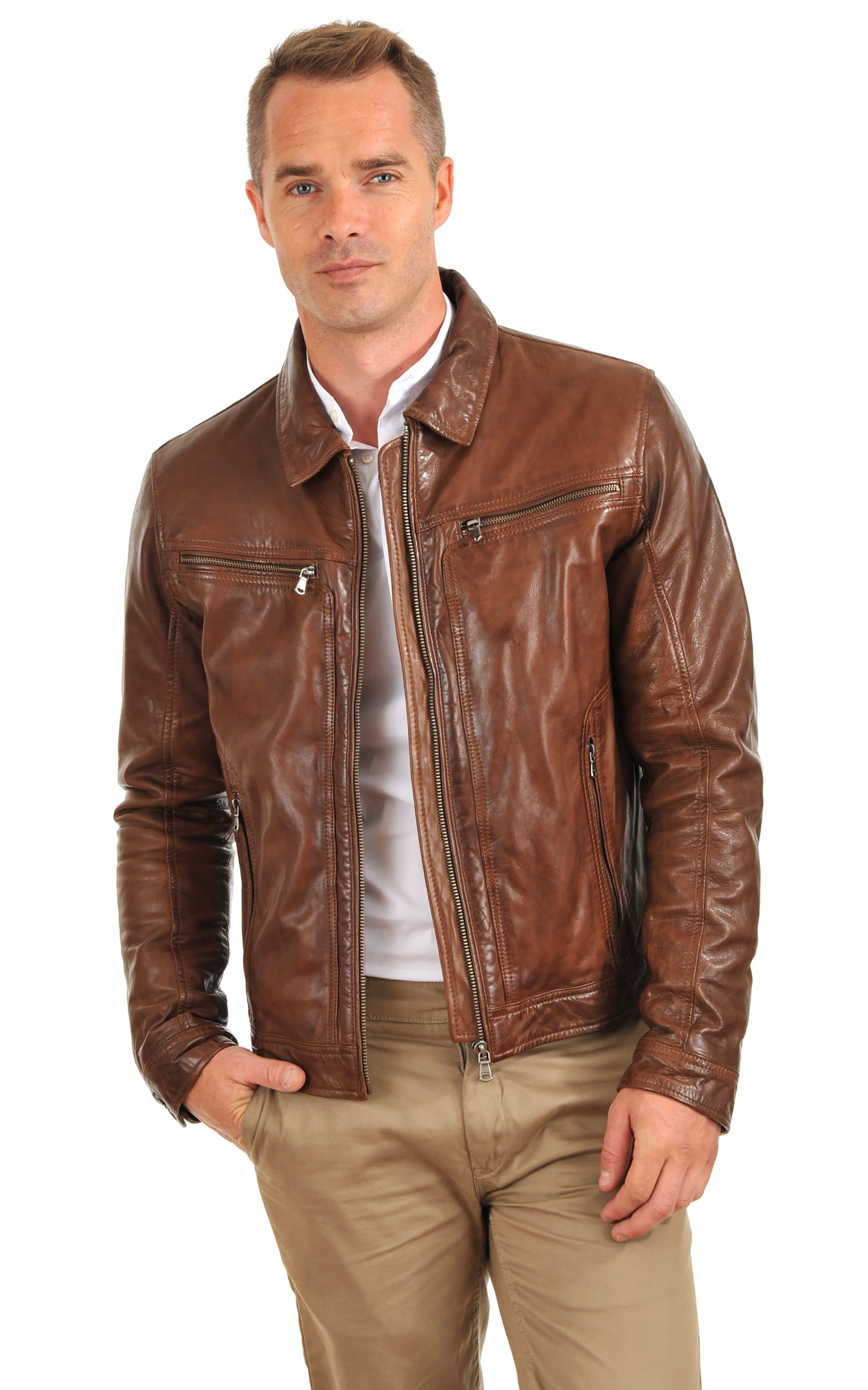 Blouson Washington Bison