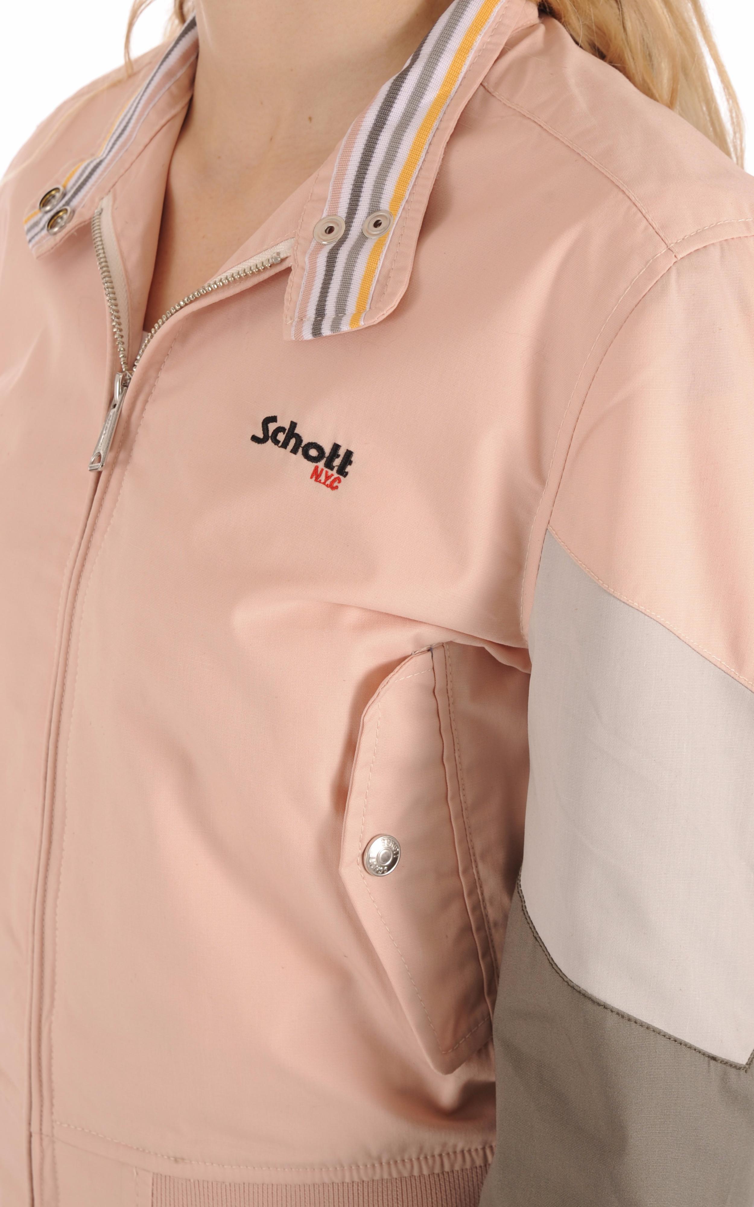 Blouson JktCabl90W Blush Schott