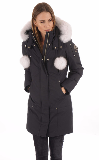 Parka Longue Duvet Stirling Navy-White Moose Knuckles