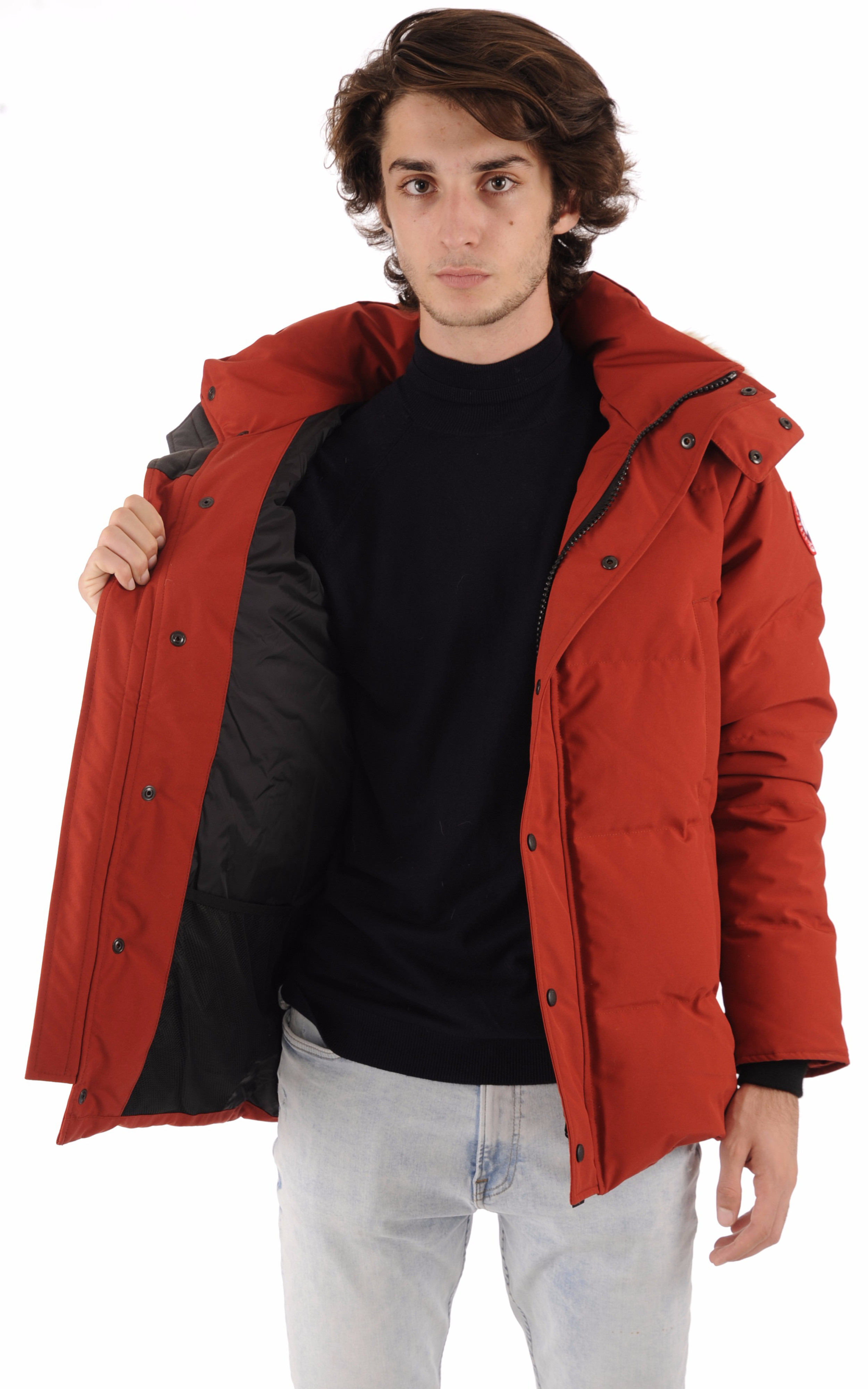 Parka Wyndham rouge Canada Goose