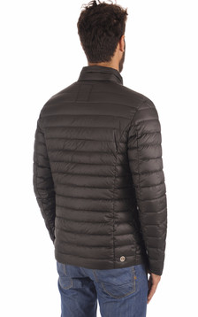 Doudoune Textile Noire Homme