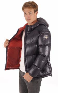 Doudoune 1238 Marine Textile Homme