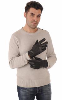 Gants Cuir de Vachette Noir