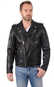 Perfecto® Schott cuir noir, Schott LC1140 Noir | Cesare
