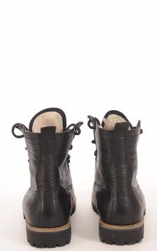 Boots Vachette et Mouton Noir Femme