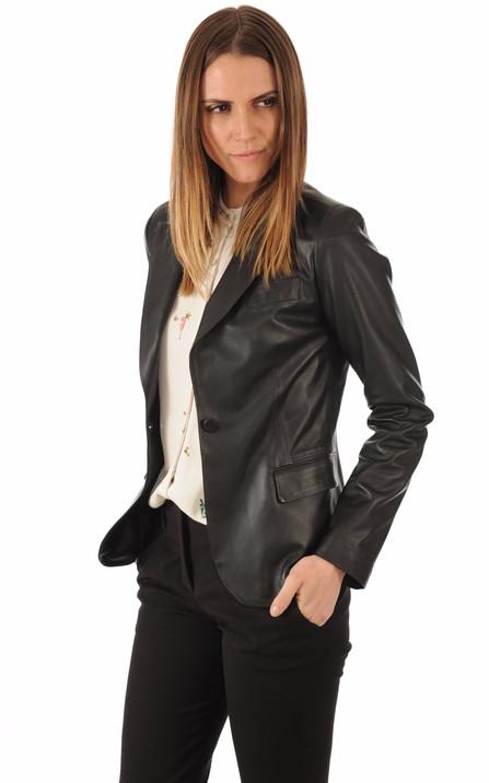 9bbfef1f16952 Blazer en Cuir Femme , tous les styles vêtements, blousons et ...