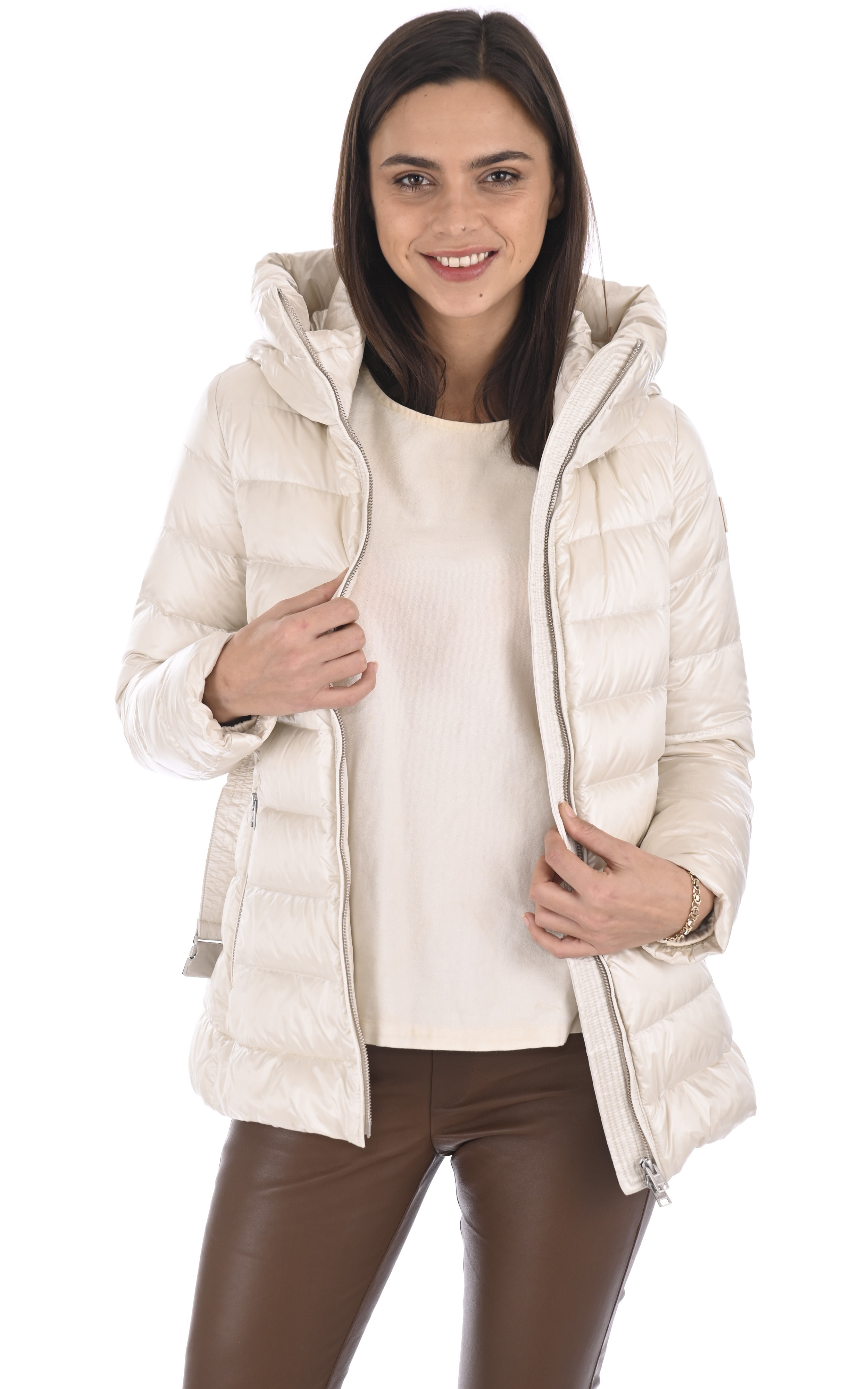 Doudoune Clover blanche Woolrich