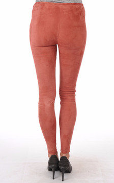 Legging Aspect Daim Femme