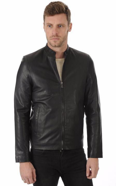93549f6ef7c03 Giorgio homme | Blouson, veste en cuir et manteau en fourrure ...