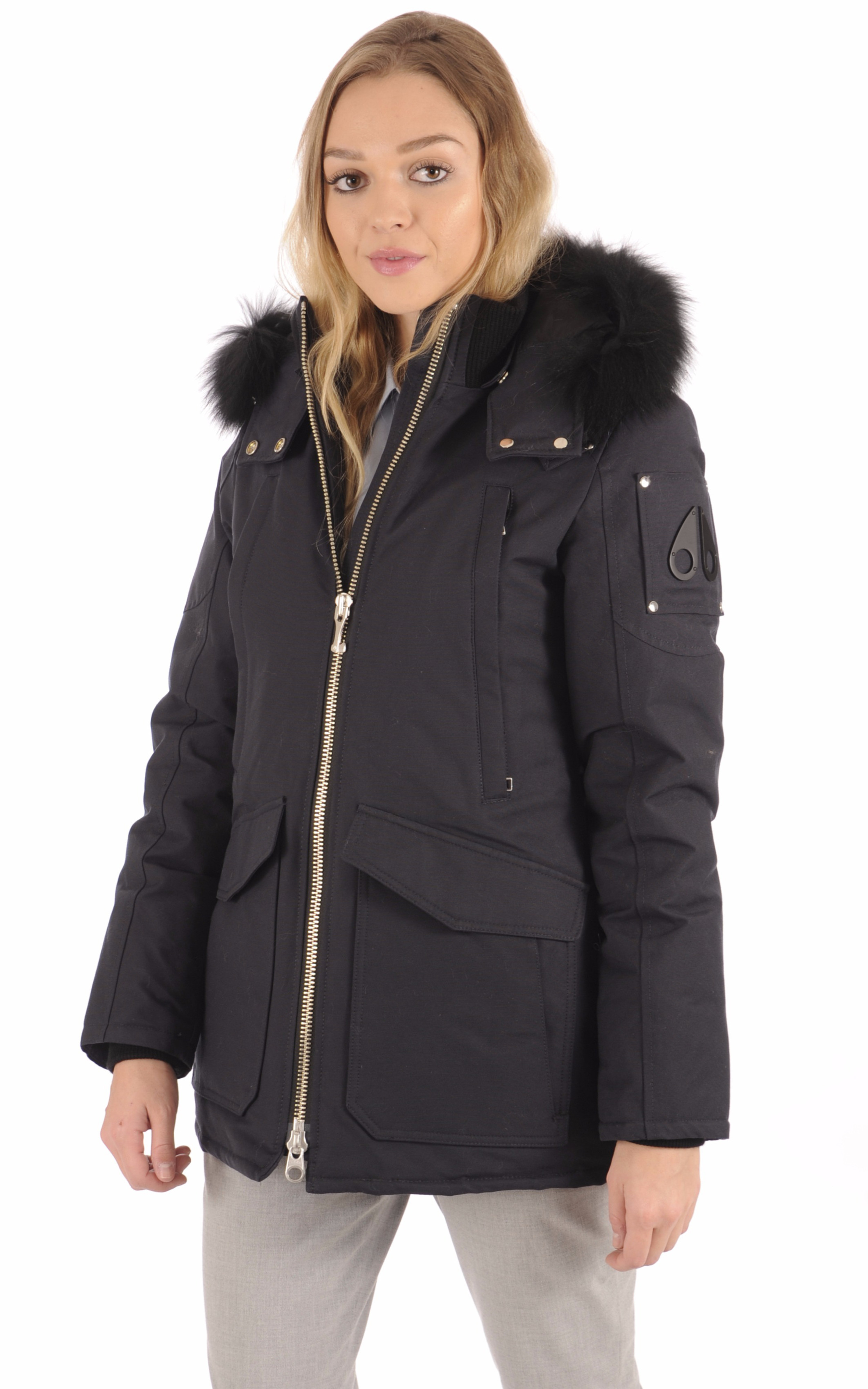 Parka Femme FIRE RIVER Navy Moose Knuckles