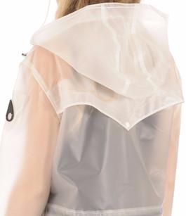 Imperméable Femme Fabre PVC transparent Moose Knuckles