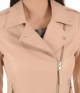 Blouson City Girl Rose Poudré Serge Pariente