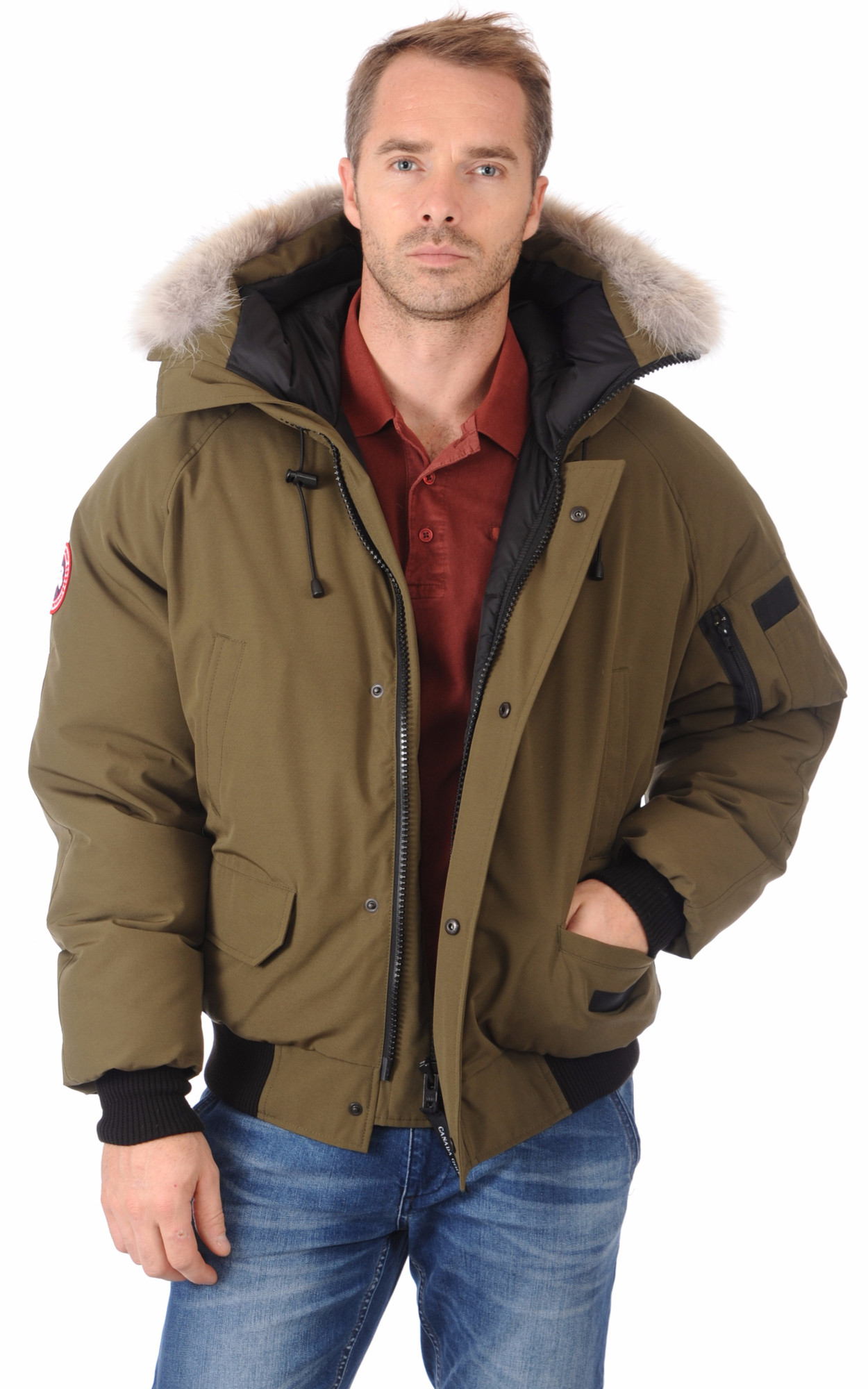Doudoune Chilliwack Military Green Homme1