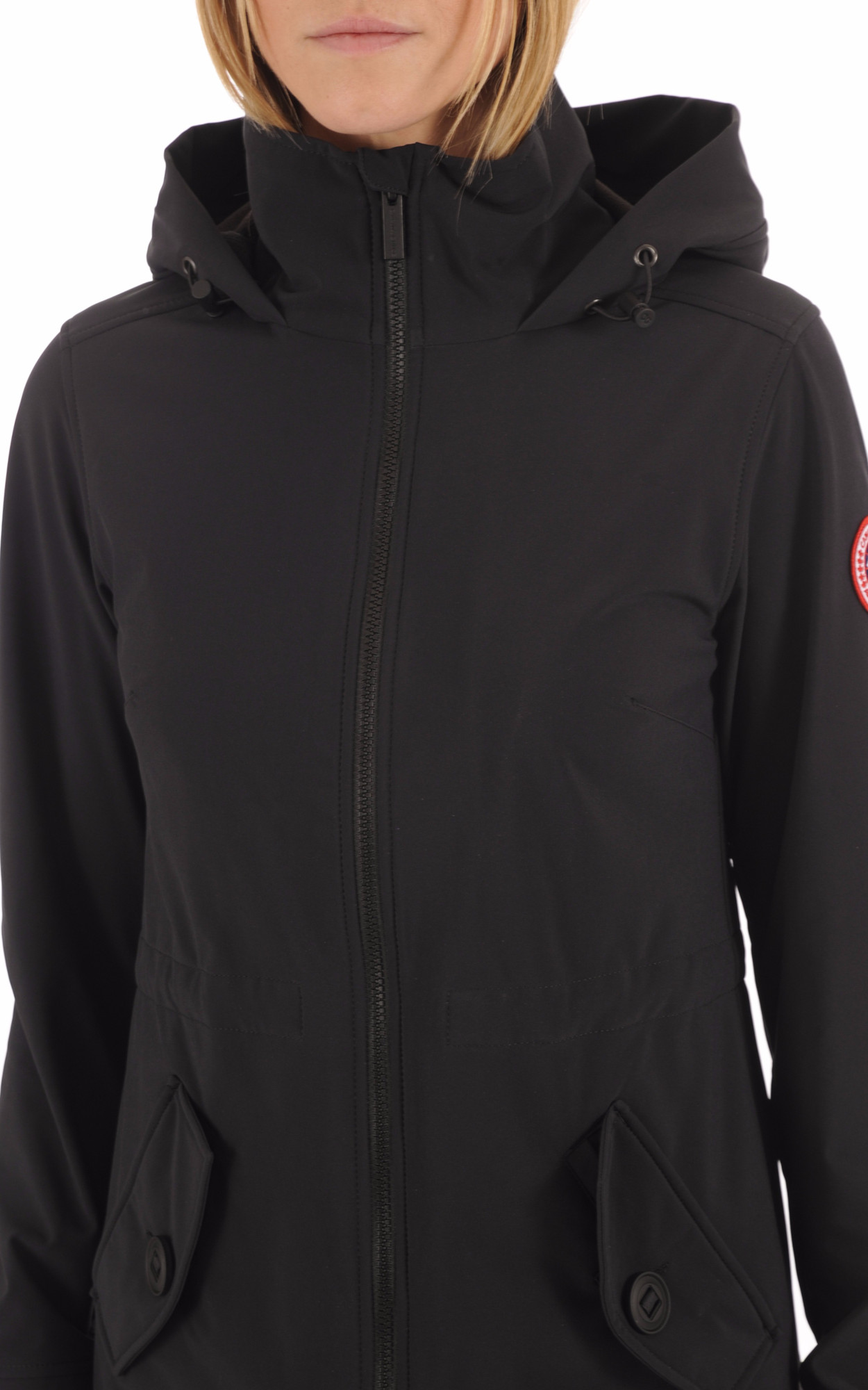Manteau Avery Coupe-Vent Black Canada Goose