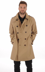Trench Imperméable CAMDEN Beige1