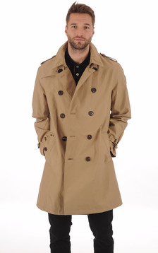 Trench Imperméable Beige1