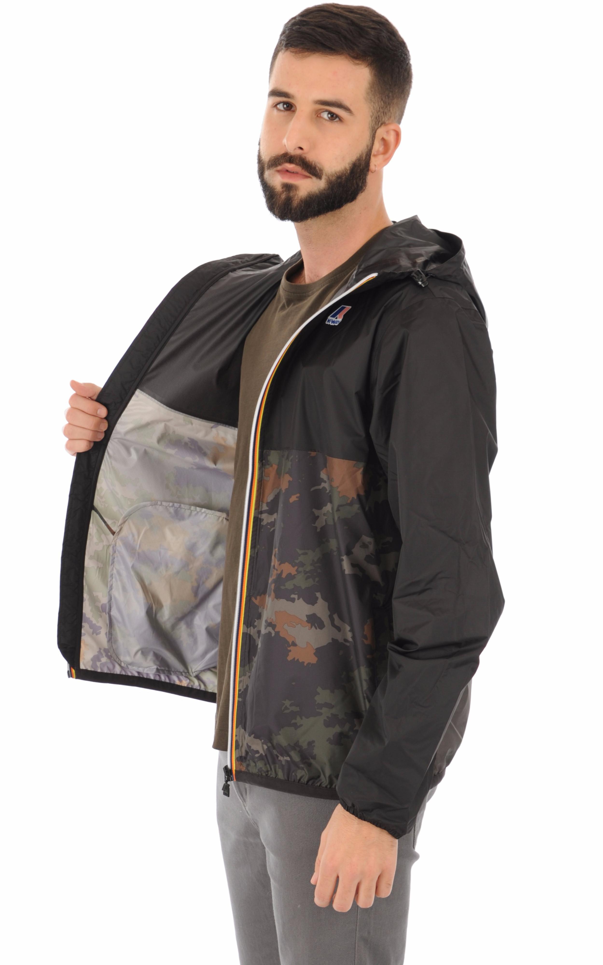 Le Vrai CLAUDE 3.0 camouflage K-Way