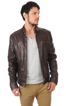 Blouson Hugo Marron