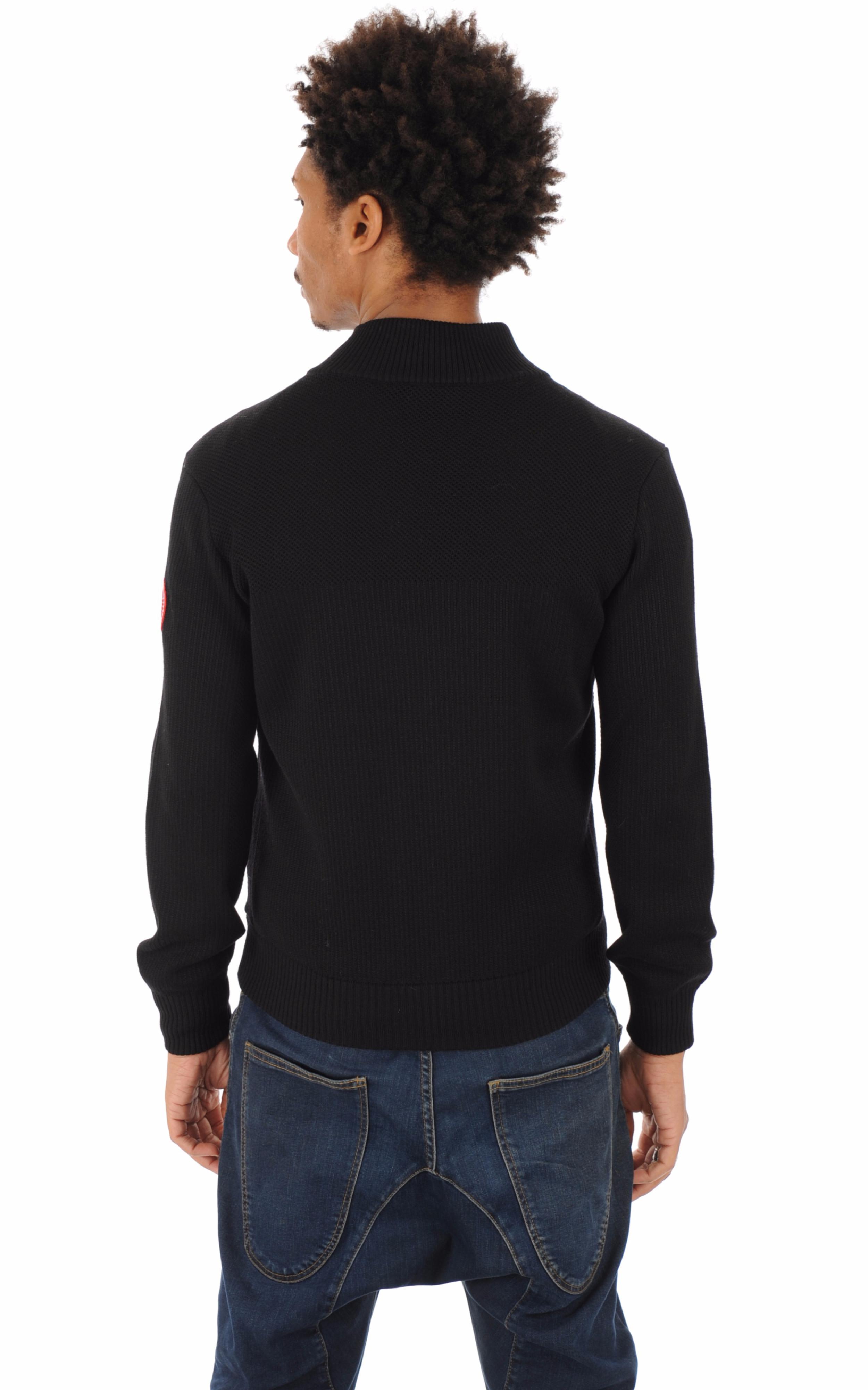 Gilet Hybridge Knit noir Canada Goose
