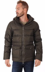 Doudoune Authentic Jacket Drill Kaki Homme1