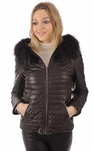 collection cuir femme la canadienne blousons cuir. Black Bedroom Furniture Sets. Home Design Ideas