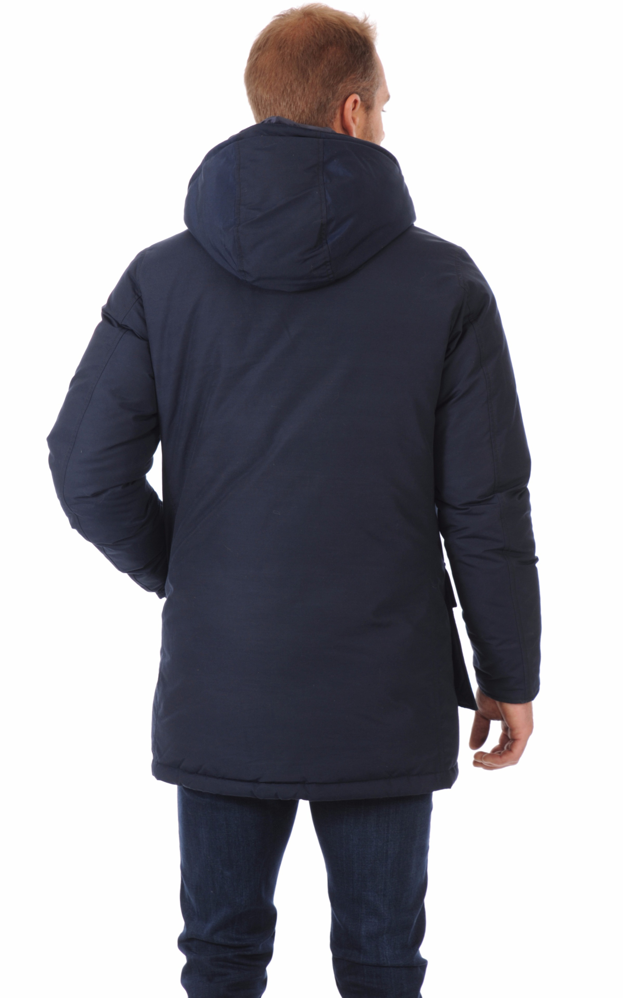 Parka homme bleu marine Woolrich