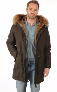 Manteau fourrure homme montreal