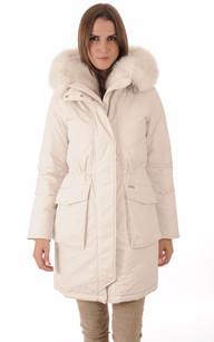 Parka W'S Military New Fur Blanc Cassé1