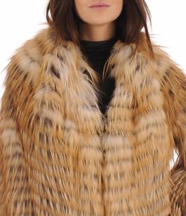 Manteau en Renard Roux Femme La Canadienne
