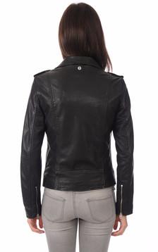 Perfecto en cuir Lcw2607x noir