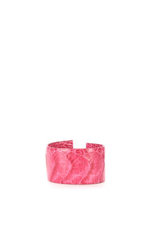 Bracelet Autruche Rose