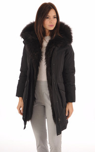 Parka Luxe WWCPS2617 Military Black