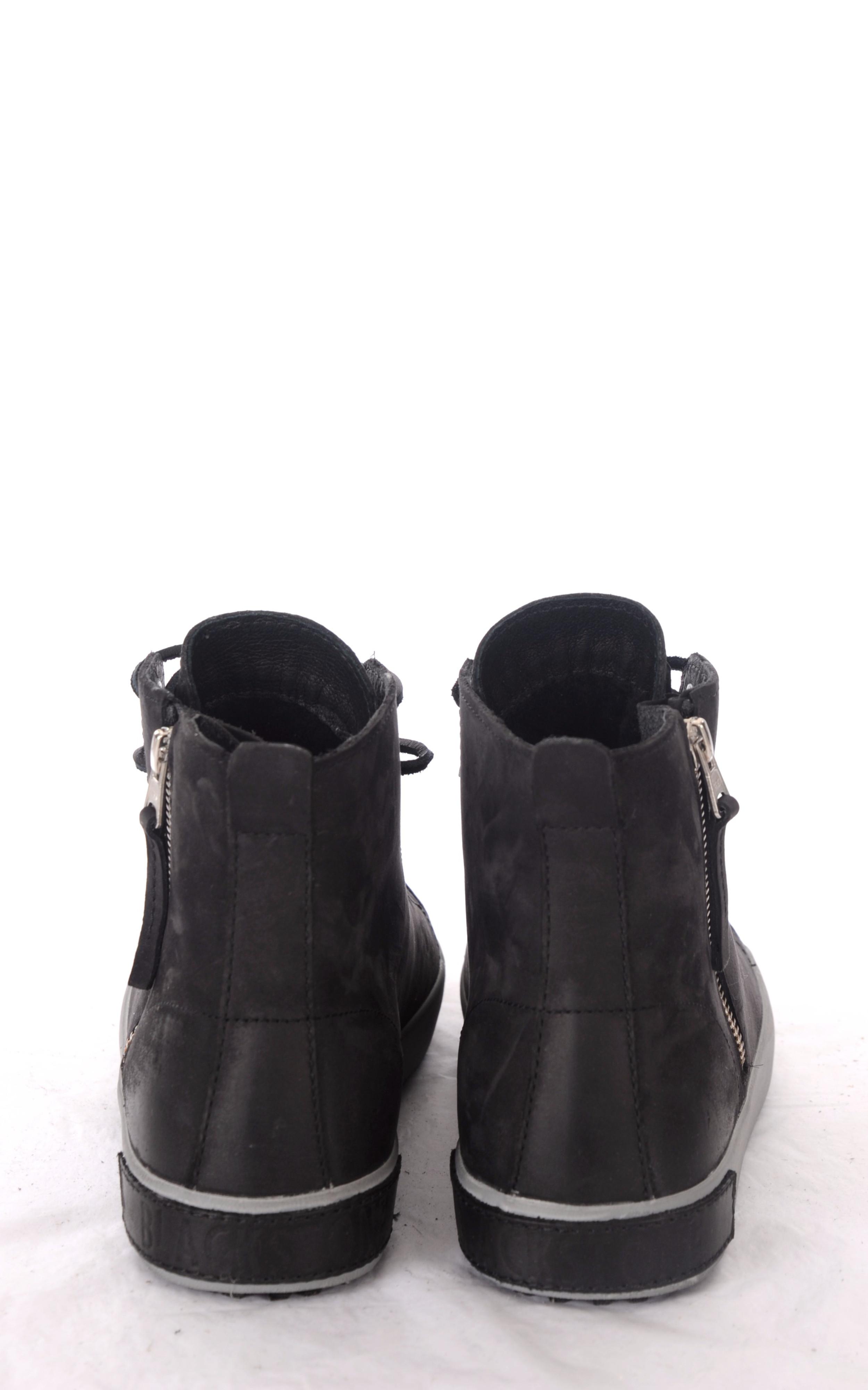 Baskets Noires Fourrées Mouton Blackstone