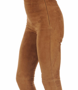 Legging Velours Stretch Cognac Oakwood